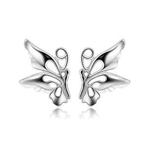 Damen-Schmetterling-Butterfly-Ohrstecker-Ohrstick-aus-echtem-925-Sterlingsilber