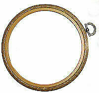 Siesta 5 Wooden Cross Stitch Embroidery Hoop Ring