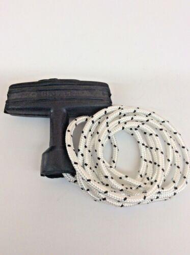 SUZUKI 1984-1987 LT50 Quadrunner Pull Start Rope /& Handle