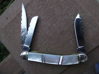 Ocoee River 3 3/4 Stockman Mop Handle Pocket Knife 3 Blade German Stainless