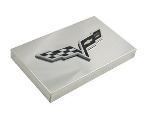 2005 2013 c6 corvette polished fuse box cover with 100th. Black Bedroom Furniture Sets. Home Design Ideas