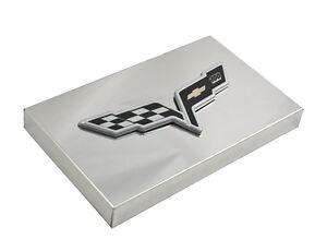 2005 2013 c6 corvette polished fuse box cover with 100th anniversary rh ebay com  2005 corvette fuse box diagram