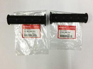 HONDA-HANDLE-GRIP-R-L-SL70-CB125-CB450-GENUINE-JAPAN-53165-390-780-53166-390-780