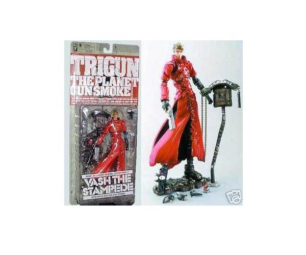 Trigun: Vash the Stampede Action Figure JC