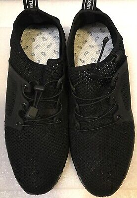 Adidas 3 Stripes Die Weltmarke Mit Den Black Mesh Mens Shoes 47 US 13.5   eBay
