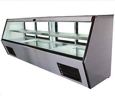 """96"""" Brand New US-Made with US Compressor Cooltech Refrigerated Counter Deli Case"""