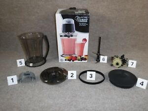 Nuwave Party Mixer Model 22191 Replacement Parts Pitcher Cover Chopper Blades Ebay