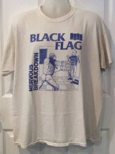 BLACK FLAG NERVOUS BREAKDOWN T-SHIRT