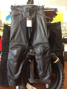 Pantalon-Cuir-Moto-Dainese-Modele-Pony-Nouveau