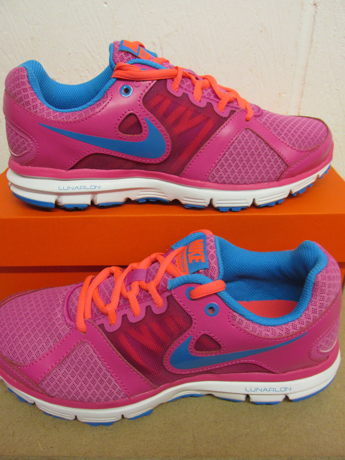 Nike Womens Lunar Forever 2 Sneakers Running Trainers 554895 600 Sneakers 2 Shoes 056ad5
