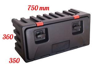 LAGO Black Dog 750 Coffre à outils Boîte De Rangement Camions Boîte à outils | eBay