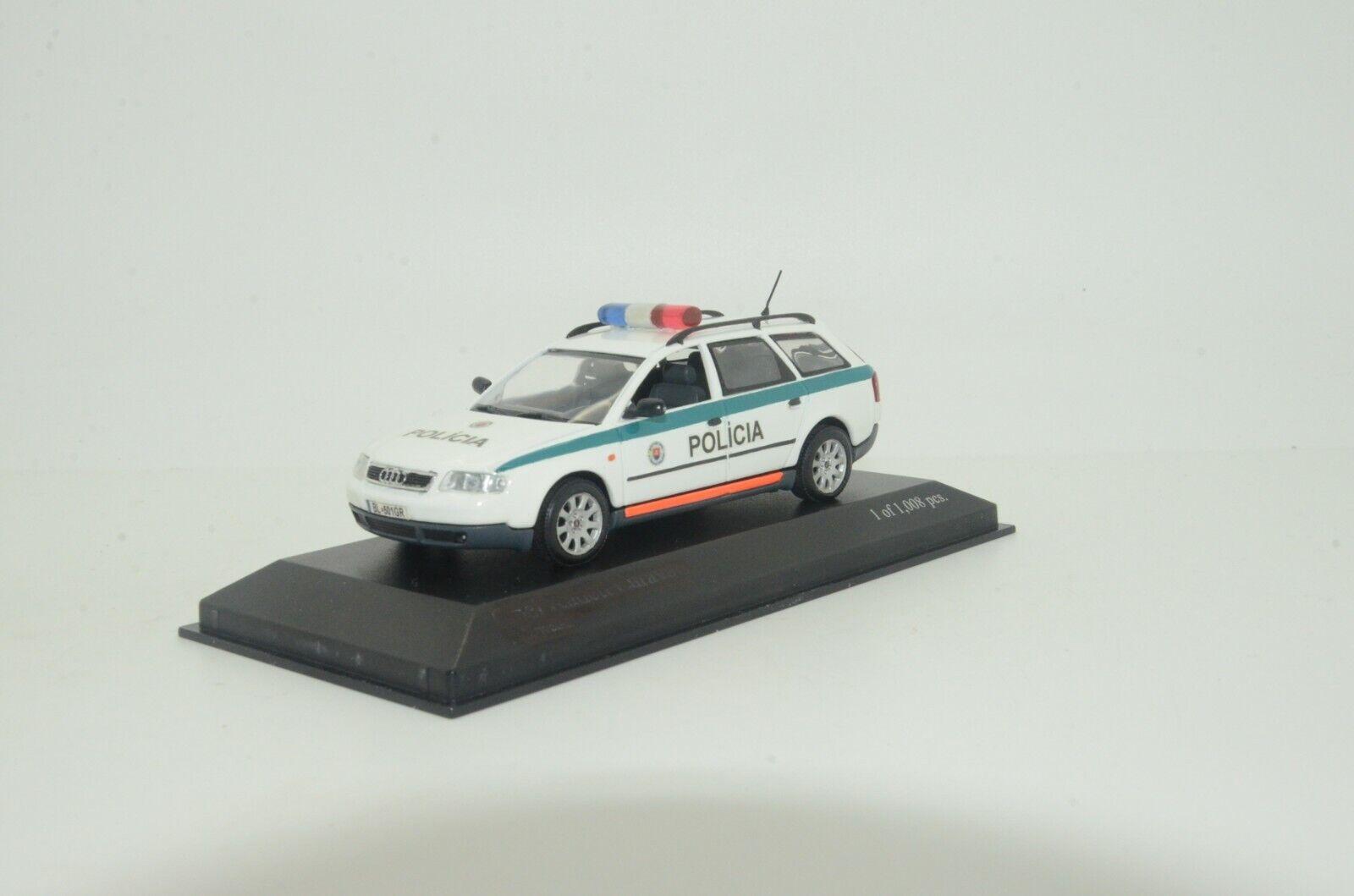 RARE    Audi A6 Avant Policia Slovakia Police Custom Made 1 43