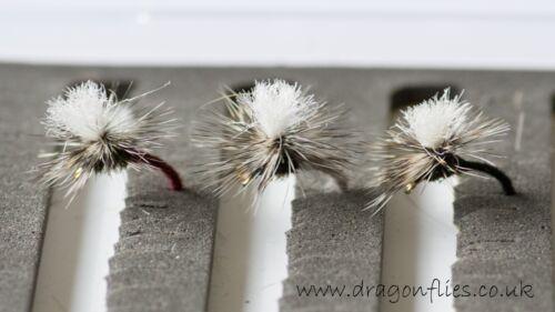 12 klinkhammers bordeaux lièvres oreille /& noir truite pêche à la mouche mouches-libellules