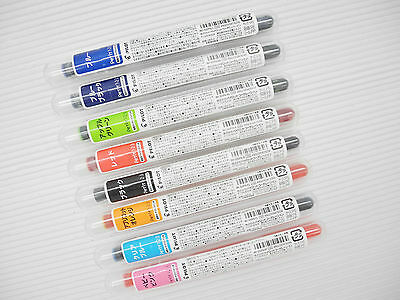 8 Colours set PILOT PeTiT1/2/3 IRF-10SPN Mini Pen 24 Cartridges with Tube