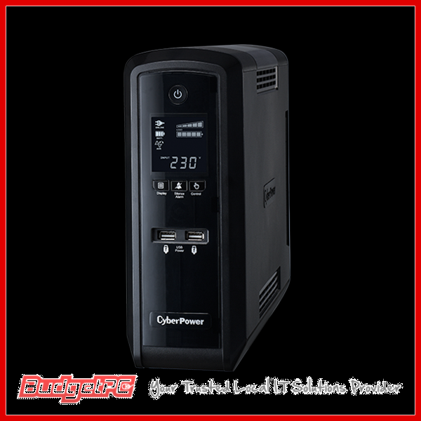 CyberPower PFC Sinewave Series 1500VA Tower UPS with LCD