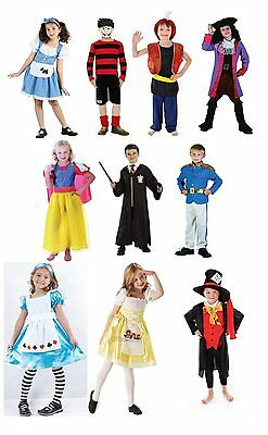 Book Week Fancy Dress Costumes Kids Boys Girls Child Character Film TV Outfit