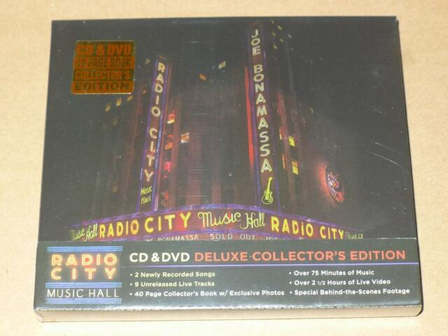 Live AT Radio City Music Hall [CD/DVD] von Joe Bonamassa (CD, Oct-2015, 2 Discs