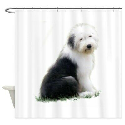 CafePress Mastiff Sitting Shower Curtain 1208930753