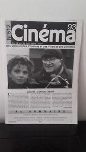 Cinema - N°512 - 16 Au 30 Giugno 1993 - Amanti: L'Amore Con Morte