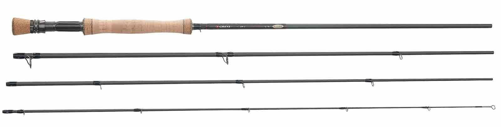 Greys GR70 4 Piece Competitor Special Trout   Salmon Fly Fishing Rod - All Sizes