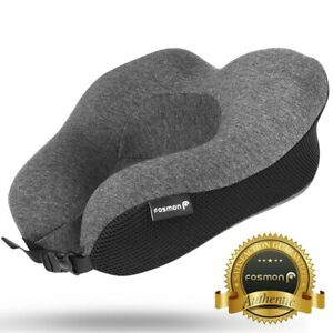 U-Shaped Memory Foam Rebound Travel Pillow Neck Support Head Rest Airplane Sleep
