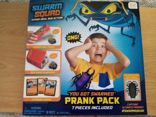 "SWARM SQUAD /""YOU GOT SWARMED/"" PRANK PACK BRAND NEW"