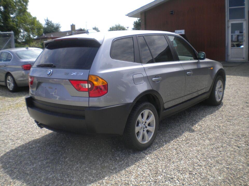 BMW X3 3,0 D Steptr. Van Diesel aut. Automatgear modelår