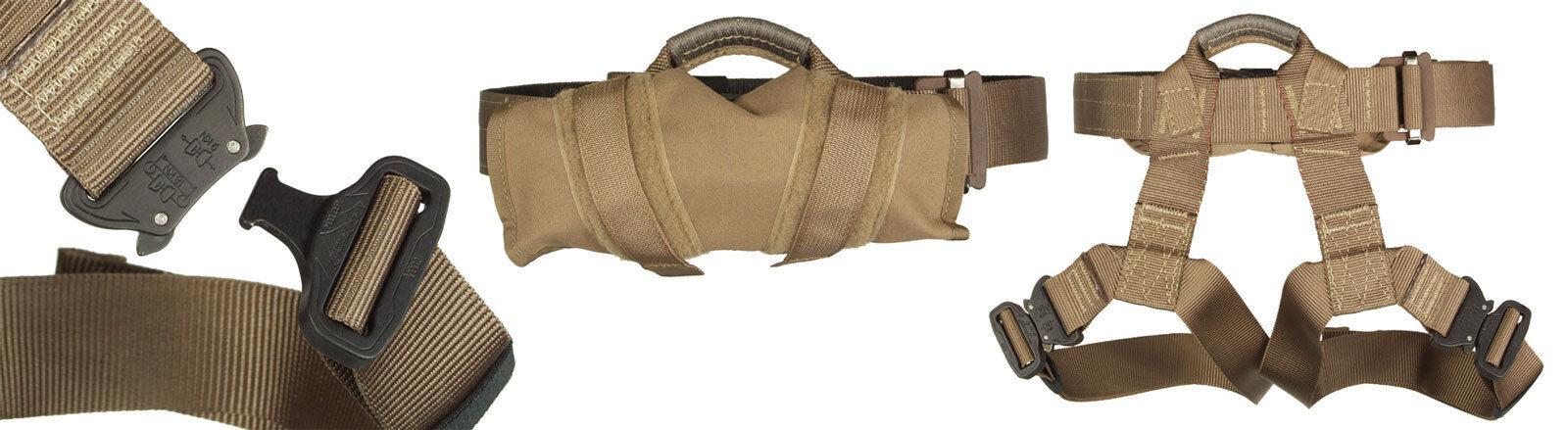 Yates Tactical Rappel Belt - 304 (Large Size)