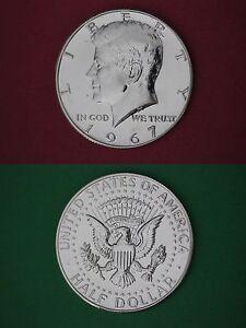 1968 D S Proof /& Mint BU 40/% Silver John Kennedy Half Dollars Combined Shipping