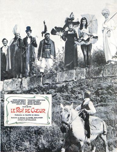 Philippe de Broca Le Roi de Coeur movie poster print
