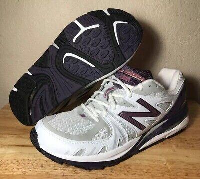 USA Running Shoes SZ White Purple