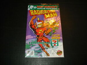 Simpsons-Radioactive-Man-7-Eleven-7-11-Issue-NM-Sealed-bag-New-2007