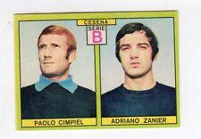 figurina CALCIATORI PANINI 1968-69 OP CESENA CIMPIEL, ZANIER