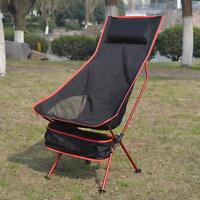 Long Moon Chairs; Folding With pillow Perfect for  Leisure Camping Chair