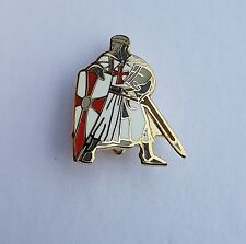 England St George Knights Templar Legs apart Badge Enamel Pin Badge Oi! England