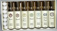 Perfume Oil Chakra Collection Set Of 7 Perfume Oils Roll On Oil For Meditation