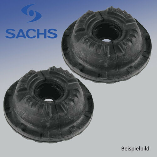 2x Federbeinstützlager für Radaufhängung Vorderachse SACHS 803 068