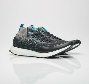 Details about NIB adidas Consortium Ultra Boost Uncaged Mid Packer x Solebox Black Blue CM7882