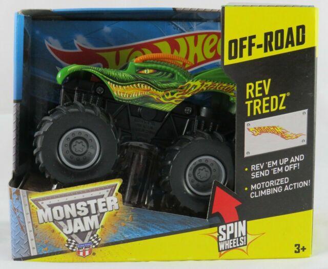 Hot Wheels CCR61 Monster Jam Rev Tredz Dragon Vehicle
