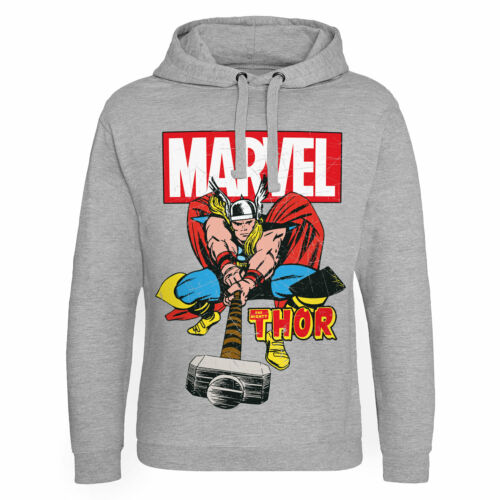 Officially Licensed Marvel Comics The Mighty Thor Epic Hoodie S-XXL Sizes