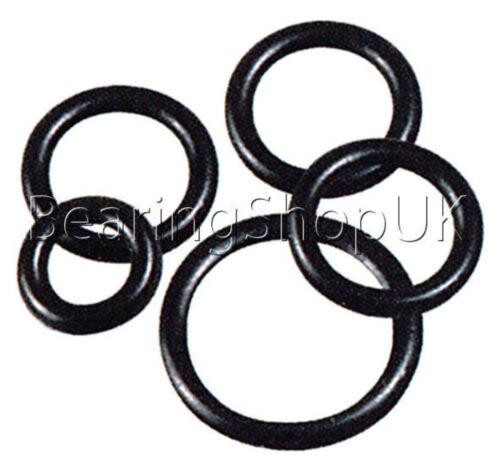 50x 8 x 2.5mm Silicone 70 O/'Ring