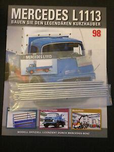 Bau-den-Lkw-Mercedes-Benz-L1113-Ausgabe-Nr-98-Hachette-1-12
