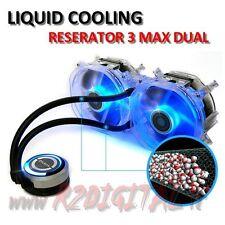 DISSIPATORE A LIQUIDO ZALMAN RESERATOR 3 MAX DUAL CPU RADIATORE LED BLU VENTOLA