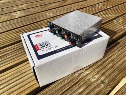 DBX 530 Parametric EQ 500 Series Analog Equaliser