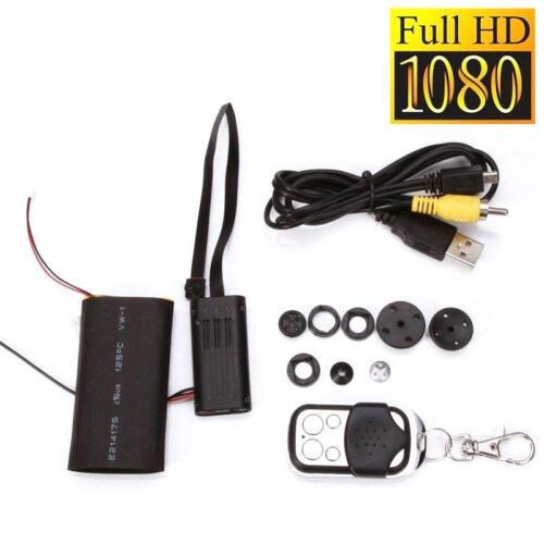 4GB FULL HD VERSTECKTE KAMERA KNOPF MINI SPYCAM VIDEO BEWEGUNG ÜBERWACHUNG A18