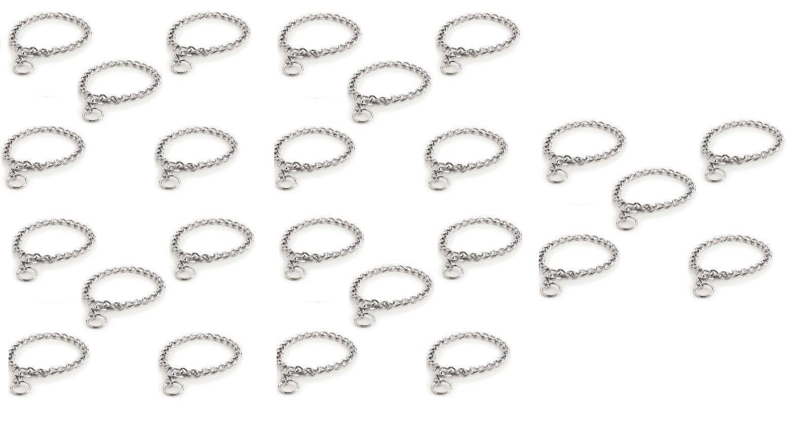 Catena Cane Collare Collare Collare Inox Bulk Confezioni extra Forte 4mm 76.2cm Scegliere 5f79a1