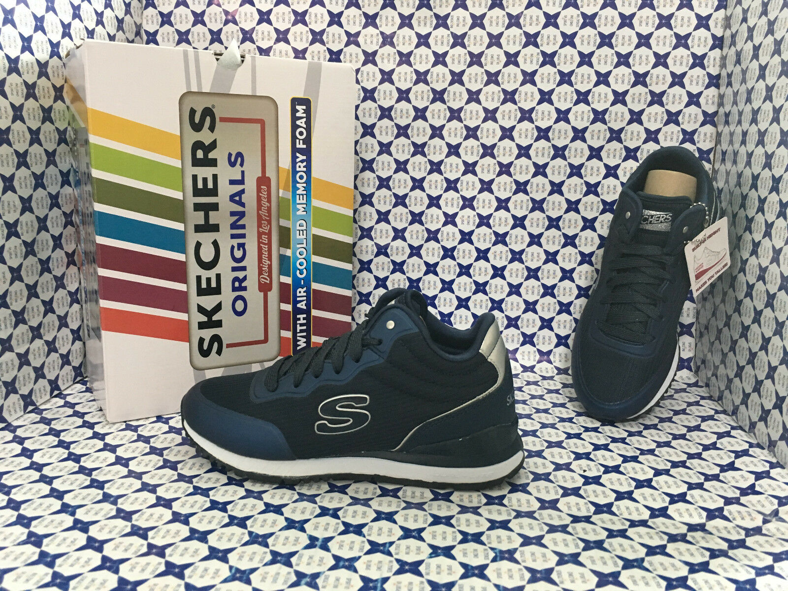 Scarpe Skechers Donna - Sunlite Vega High - Blu Navy - 920