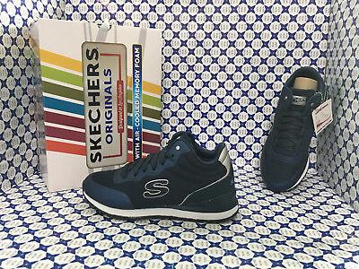 Onesto Scarpe Skechers Donna - Sunlite Vega High - Blu Navy - 920 Con Il Miglior Servizio