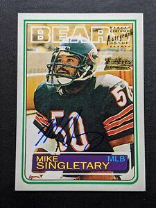 2001-Topps-Team-Legends-Mike-Singletary-Autograph-38-Bears-HoF