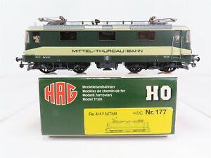 HO-Scale-HAG-177-MThB-Mittel-Thurcau-Bahn-Re-4-4-European-Electric-Locomotive-21